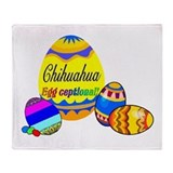 Chihuahua Easter Throw Blanket