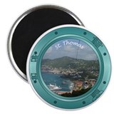 St Thomas Porthole Magnet