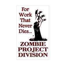 Zombie Projects Division Decal