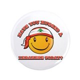 Have you hugged a Lebanese today? 3.5&quot; Button