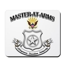 US Navy Master At Arms Mousepad