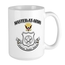 US Navy Master At Arms Mug