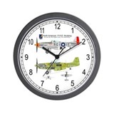 P-51 Mustang Cutaway Wall Clock