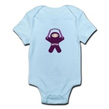 Nunchuck Ninja! Infant Bodysuit