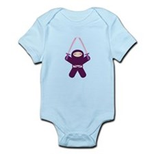 Sword Wielding Ninja! Infant Bodysuit