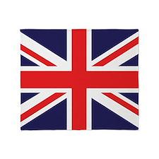 Union Jack Throw Blanket