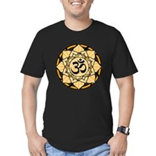 Aum Lotus Mandala (Orange) T
