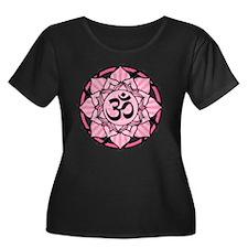 Aum Lotus Mandala (Pink) T
