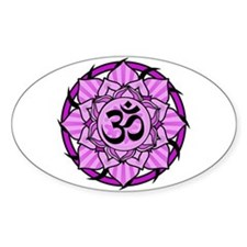 Aum Lotus Mandala (Purple) Decal