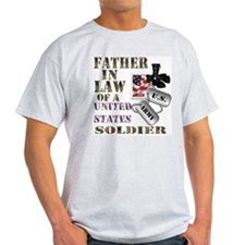 Father In Law Ash Grey T-Shirt