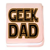 Geek Dad baby blanket