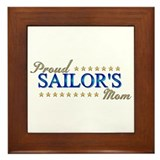 Sailor's Mom Framed Tile