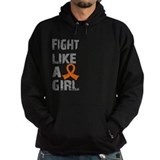 Fight Like A Girl Multiple Sclerosis Hoodie