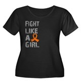 Fight Like A Girl Multiple Sclerosis T
