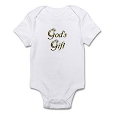 """God's Gift"" Infant Onesie"