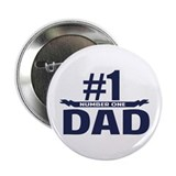 "Number 1 DAD 2.25"" Button"