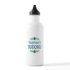 Happiness Sudoku Water Bottle