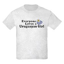 Uruguayan Girl T-Shirt