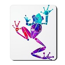 Crazy Purple Tree Frog Mousepad