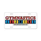 Jazmine Aluminum License Plate