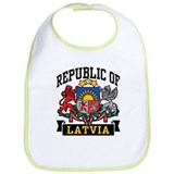Republic of Latvia Bib