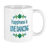 Happiness Line Dancing Small Mug
