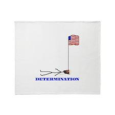 Determination Throw Blanket