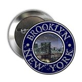 "Brooklyn, New York 2.25"" Button"