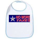No More Taxes Flag Star Bib
