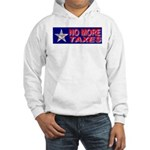 No More Taxes Flag Star Hooded Sweatshirt
