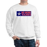 No More Taxes Flag Star Sweatshirt