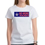 No More Taxes Flag Star Women's T-Shirt
