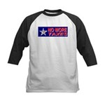 No More Taxes Flag Star Kids Baseball Jersey