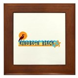 Rehoboth Beach DE - Beach Design Framed Tile