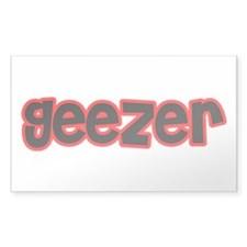 Geezer Decal