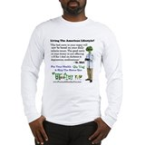 Cool Plant based diet Long Sleeve T-Shirt