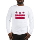 """True Grit"" DC Flag Long Sleeve T-Shirt"