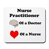 Cute Nurse practitioner Mousepad