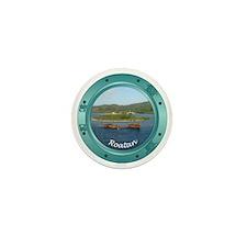 Roatan Porthole Mini Button (10 pack)