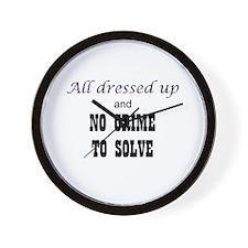 CastleTV All Dressed Up... Wall Clock