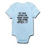 Unique Basketball father Infant Bodysuit