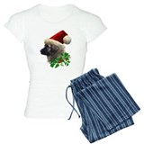 Leonberger Dog Christmas pajamas