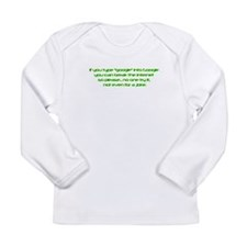 Funny Ibm Long Sleeve Infant T-Shirt