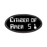 Citizen of Area 51 Patches