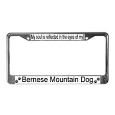 """Bernese Mountain Dog"" License Plate Frame"