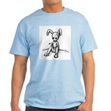 Sitting Rabbit Ash Grey T-Shirt