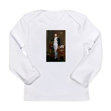 Napoleon in His Study Long Sleeve Infant T-Shirt