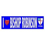I Love Bishop Robinson ECUSA Bumper Car Sticker