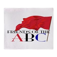 Friends of the ABC Throw Blanket