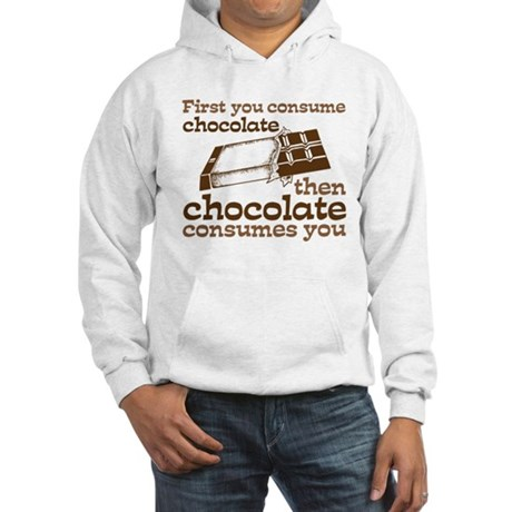 Chocolate Hooded Sweatshirt